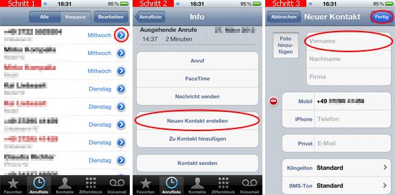 kontakt zu whatsapp hinzufügen