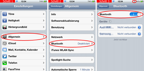 IPHONE FOTOS BLUETOOTH ÜBERTRAGEN