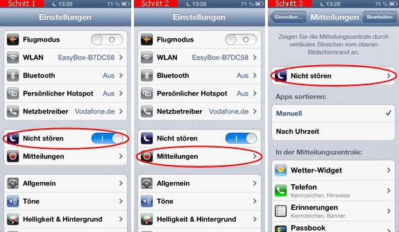 Iphone X Nicht Stören