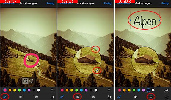 bilder aufs iphone