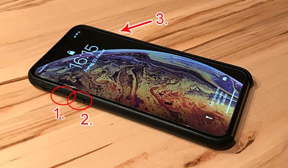 IPHONE X HARD RESET GEHT NICHT