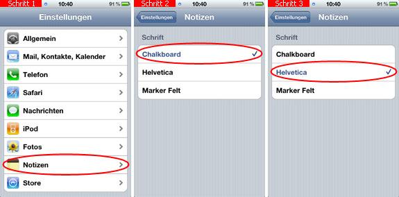 whatsapp schrift ändern iphone