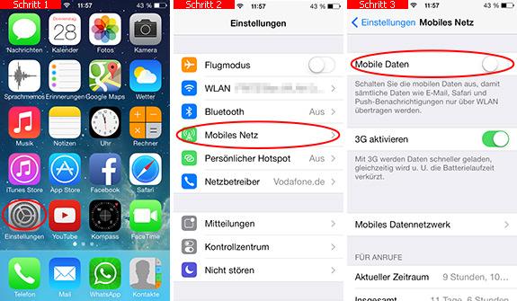 Iphone Internet Komplett Ausschalten