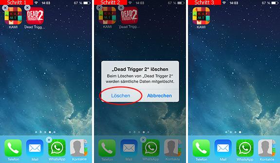 apps vom iphone löschen itunes
