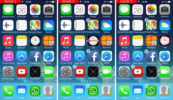 Iphone Apps Verschieben Ios